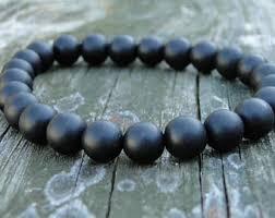 black bracelet onyx images Black onyx bracelet etsy jpg