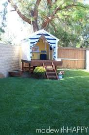 Backyard Fort Ideas This Summer Build A Simple Diy Treehouse In Your Backyard For