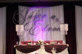 wedding backdrop name design joyce wedding service backdrop name