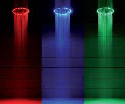 led light shower led shower heads