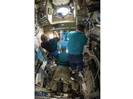 a rare look at the russian side of the space station space air