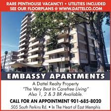 embassy apartments rare penthouse vacancy real estate ads