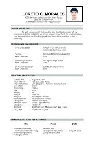 resume format for college application high school resume exles high school resume exles