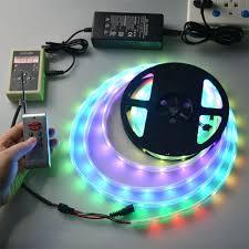 led outdoor strip lighting rgb 5050 smd underwater lights 5m dc12v waterproof led strip light