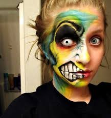 halloween series 2012 crazy face redone full video tutorial