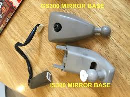 lexus nx mirror how to is300 compass rear view mirror upgrade clublexus lexus