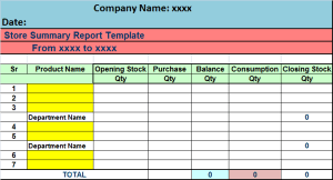 summary report template summary report template fourthwall co