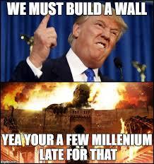 Build Your Meme - donald trump s wall vs attack on titan imgflip