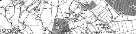 hurst map hurst photos maps books memories francis frith
