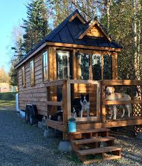 Living Big In A Tiny House by Dog Friendly Enclosed Porch Check Out Tiny House Big Adventures