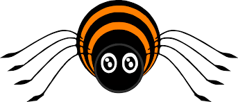 spider images halloween no background spider clipart clipart bay