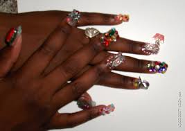 bling bling nails nail art archive style nails magazine