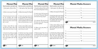 mental maths adding worksheets maths worksheet mental maths
