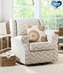 Swivel Rocking Chairs For Living Room Swivel Rocking Chairs For Living Room Delta Chevron Nursery Glider