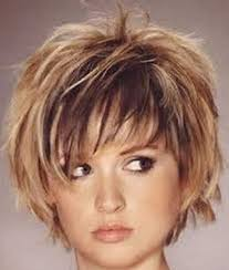 curly layered bob double chin short haircuts for chubby faces short hairstyles 2017 2018