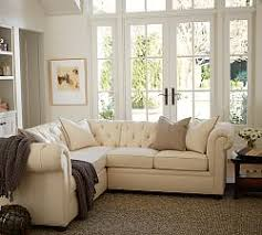 Chesterfield Sectional Sofa Chesterfield Collection Pottery Barn