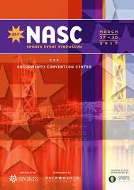 design event symposium 2017 nasc sports event symposium onsite guide by national