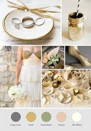 gold and gray color scheme gray ivory and gold wedding wedding color inspiration