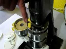 Upholstery Button Making Machine How To Use The Button Press Flv Youtube