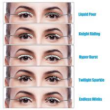Glow In The Dark Eyelashes Amazon Com Led Eyelashes Unktop Waterproof Led Light F Lashes