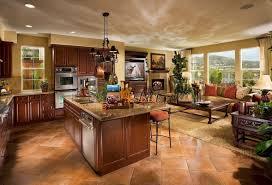interior design of ranch home