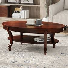 cherry end tables queen anne queen anne cherry coffee table wayfair