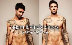 adam levine u0027s tattoos adam levine u0026 maroon 5 pinterest