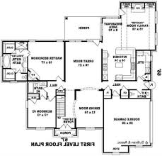 Great House Plans Stairs Attractive House Plans With Pools Crafted Of Stone Looks