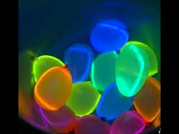 glow in the party decorations glow in the decorating ideas