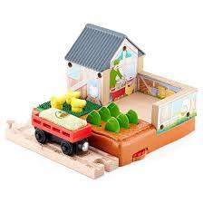 Fisher Price Barn Bounce House Fisher Price Thomas U0026 Friends Wooden Railway Mccoll U0027s Farm Chicken