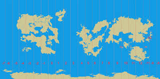 Map Projection Convert Map To Mercator Projection