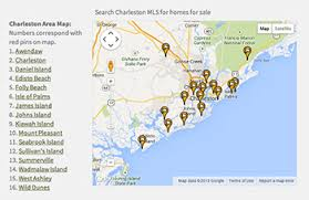south carolina beaches map charleston golf communities gated golf course homes and