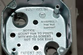 ceiling fan electrical box adapter how to retrofit a ceiling fan electrical box fine homebuilding