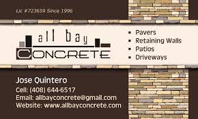 concrete business cards olga kuczer business cards