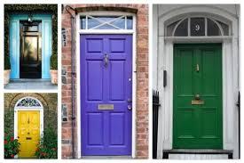light blue house front door color colors purple doors paint what