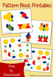 99 best pattern blocks images on pinterest pattern blocks