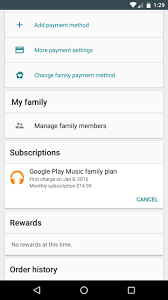 my google play order google play family groups arrive for buying apps and more with a