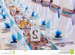 blue wedding decorations for the tables table runners innovation