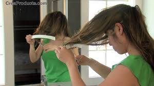 how to cut long hair to get volume at the crown how to trim side bangs and layers diy create layered cuts for