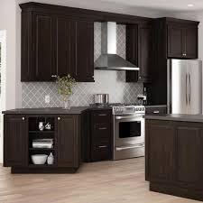 home depot kitchen cabinets and sink hton bay designer series gretna assembled 36x34 5x23 75