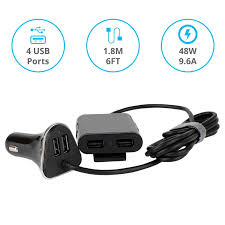 Car Phone Charger With Usb Port Car Chargers Skiva