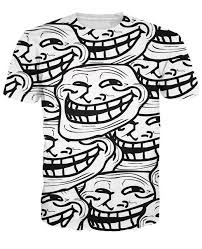 Internet Meme Shirts - summer style women troll face t shirt vibrant internet meme and