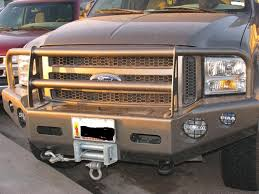 colored brush guard ford truck enthusiasts forums