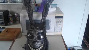 frank halloween mask frank the rabbit donnie darko movie mask youtube