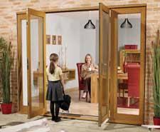 Patio Doors With Sidelights That Open External Folding Doors Exterior Door Pairs Oak Exterior Pairs