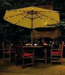 Lighted Patio Umbrella Solar Patio Umbrella With Lights Blue Patio Umbrella With Lights The