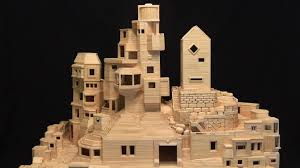 toothpick house artist builds city structures with over 300 000 toothpicks wdka