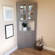 distressed corner tv cabinet corner kitchen hutch farmhouse furniture tall cabinet images on