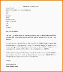 7 early lease termination letter nypd resume