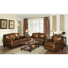 leather livingroom set sofa sets cymax stores
